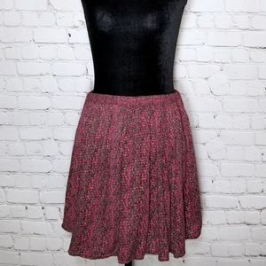 Urban Outfitters Kimchi Blue knit floral skirt